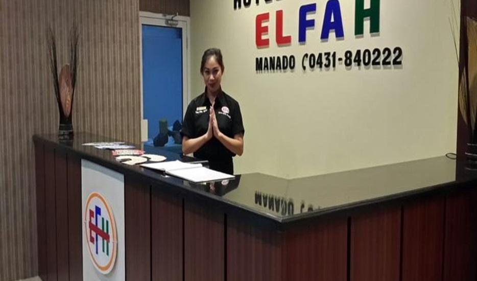Elfah Hotel Manado - Resepsionis