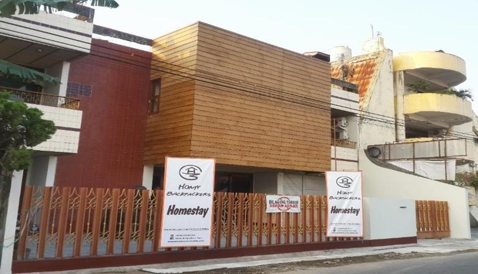 Homy Backpackers Homestay Yogyakarta - Exterior