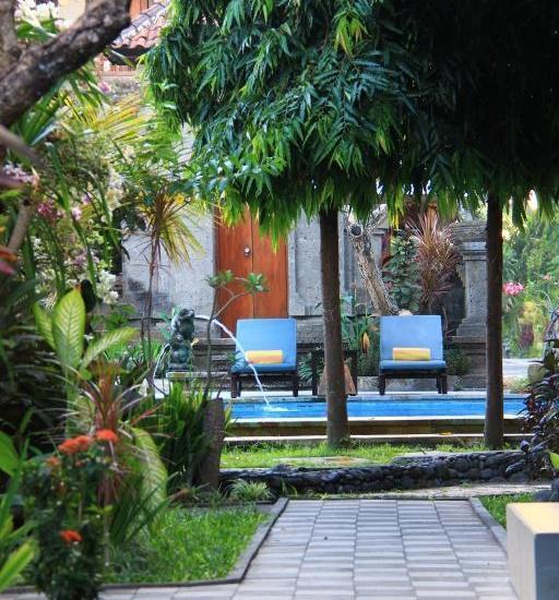 Puri Sading Hotel Bali - Taman