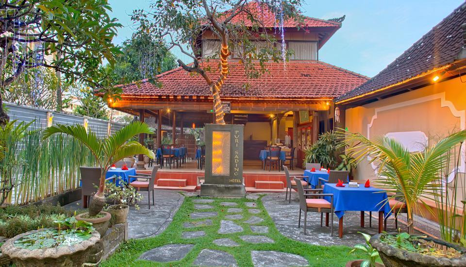 Puri Sading Hotel Bali - Depan restoran