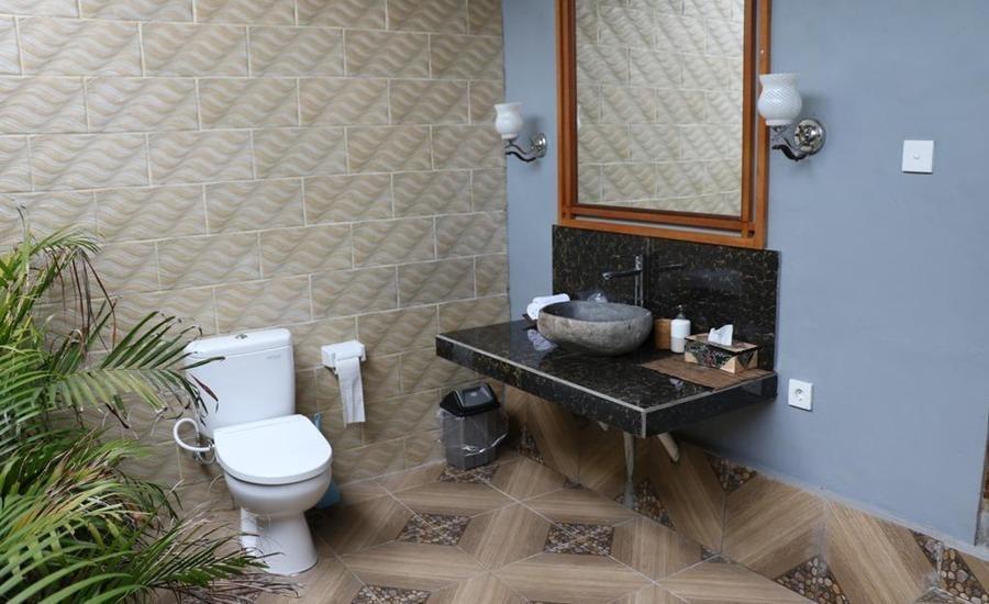 Warisan Villa Lembongan Bali - Deluxe Double Room Only Regular Plan