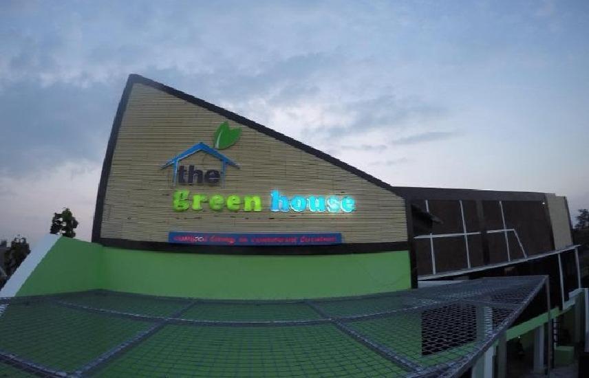 The Green House Yogyakarta - bangunan
