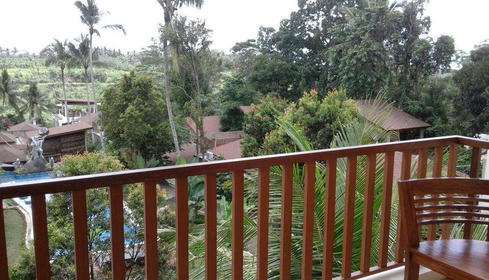Ashoka Tree Resort at Tanggayuda Bali - Suite Pool View Balcony