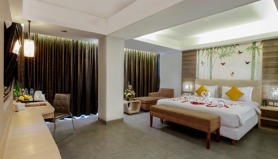 Steenkool Hotel Bali - kamar Tidur