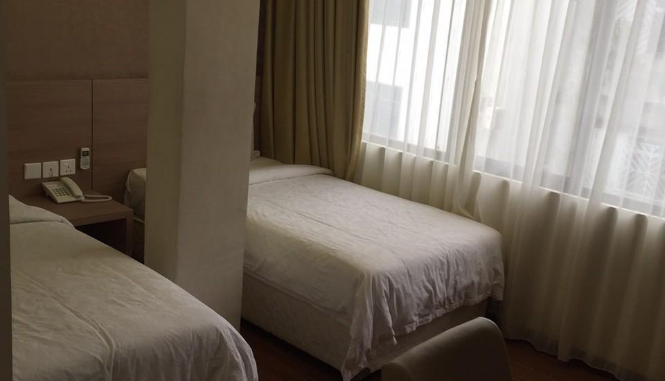 Hana Hotel Batam - Kamar Standart Twin