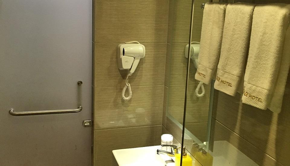 Hana Hotel Batam - Kamar mandi dan Toilet Kamar Suite