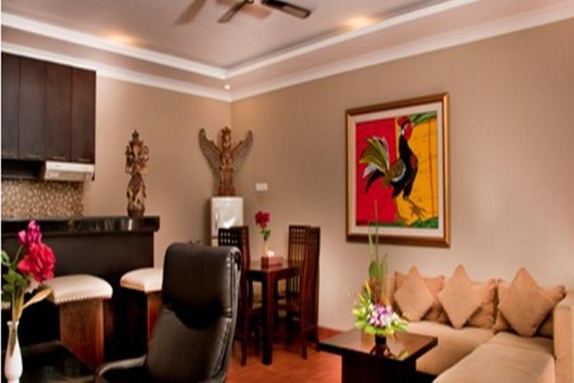 Sindhu Mertha Suite  Bali - Ruang tamu