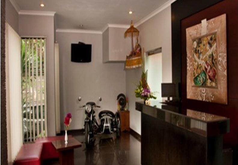 Sindhu Mertha Suite  Bali - Resepsionis
