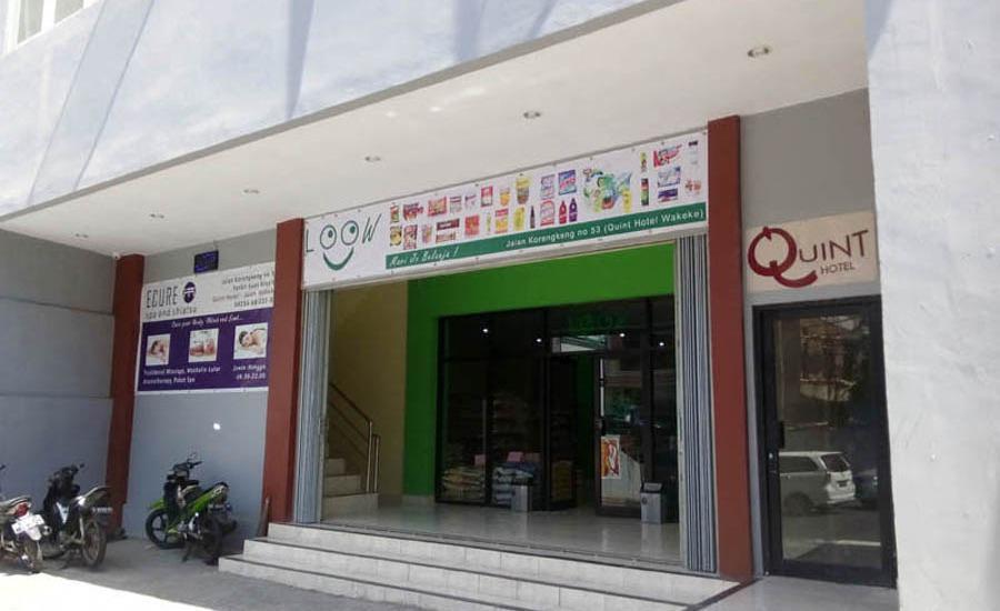Quint Hotel Manado - Pintu masuk utama penampilan