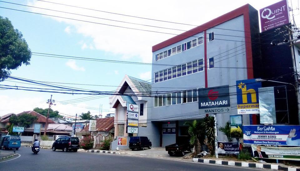 Quint Hotel Manado - Main entrance appearance