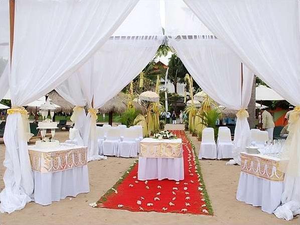 Sol Beach House Bali-Benoa All Inclusive by Melia Hotels Bali - Dekorasi pernikahan