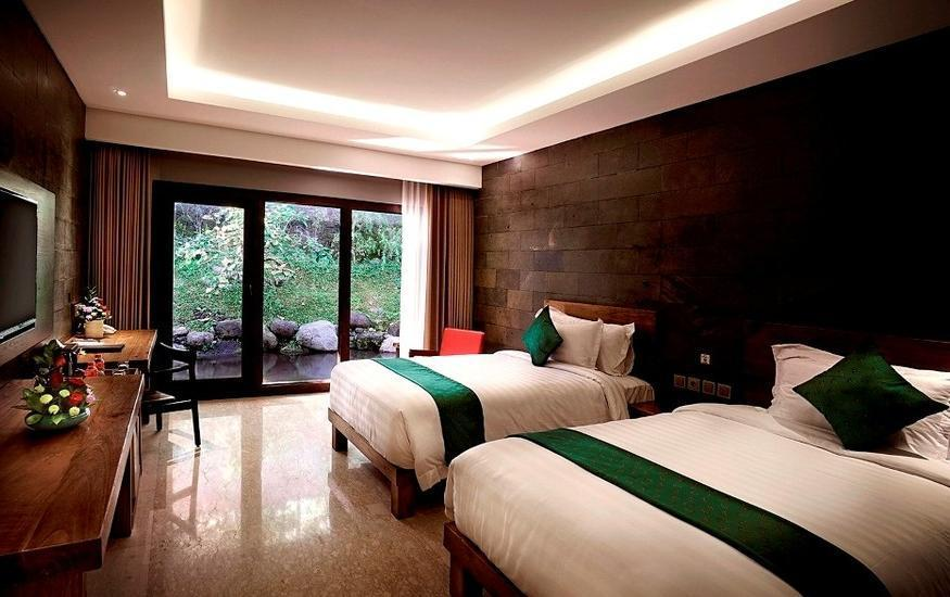 The Westlake Resort Yogyakarta - Deluxe Room Twin Tanpa Sarapan  Regular Plan