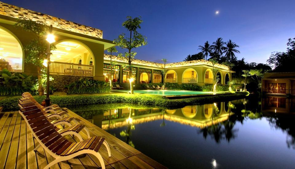 The Westlake Resort Yogyakarta - Area dek