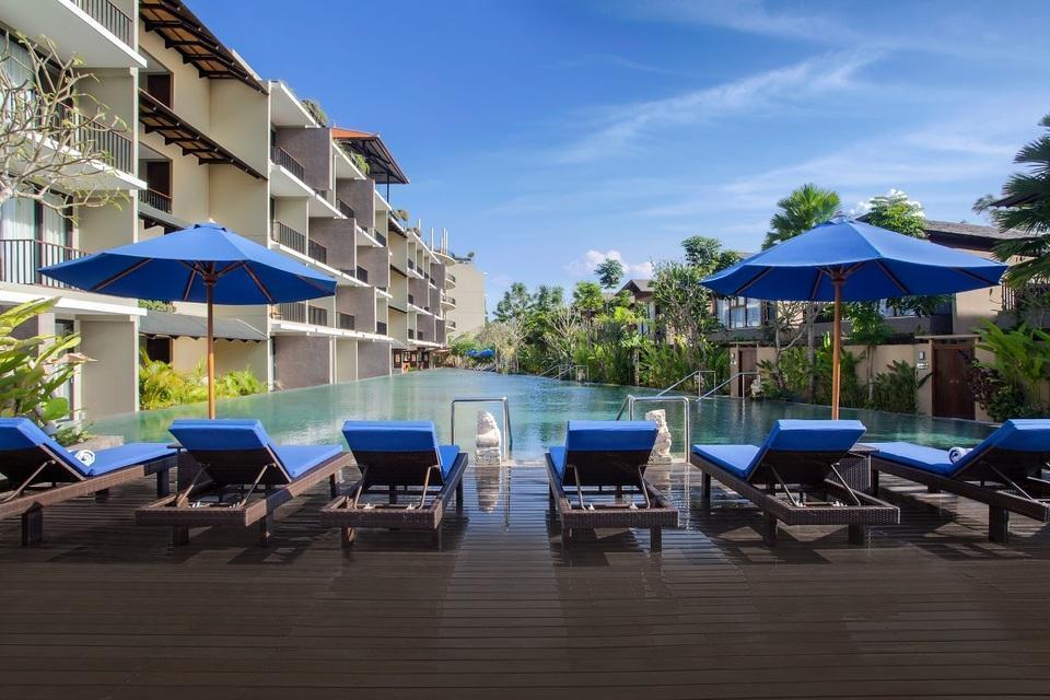 Wyndham Dreamland Resort Bali Bali - Kolam Berenamg