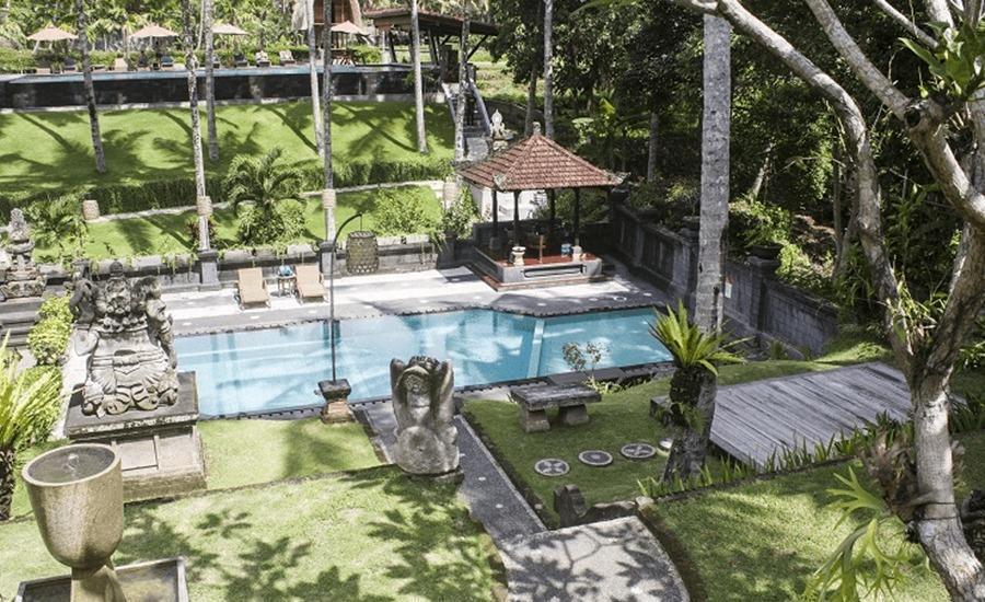 Tinggal Premium Cottage Ubud Raya Pengosekan Bali - Kolam Renang