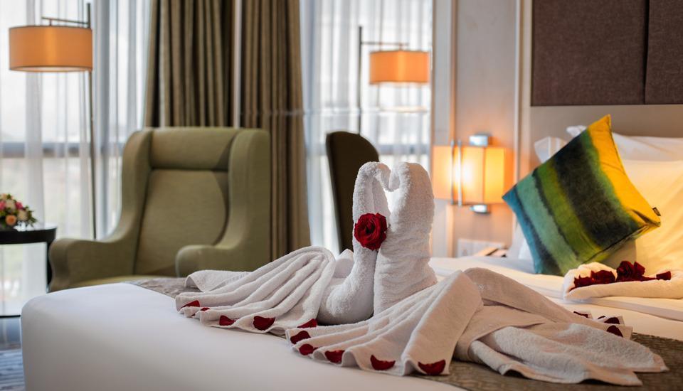 Swiss-Belhotel Yogyakarta - Honeymoon setup