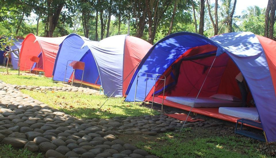 Green Coral Beach Camping Ground Tanjung Lesung Pandeglang - Dua Bed