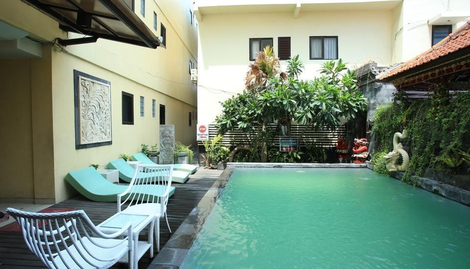 RedDoorz @Buni Sari Kuta Bali - Kolam Renang