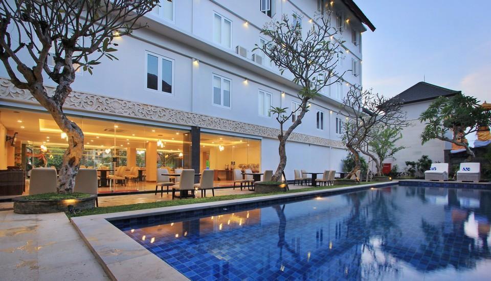 Mars City Hotel Bali - Luar Hotel