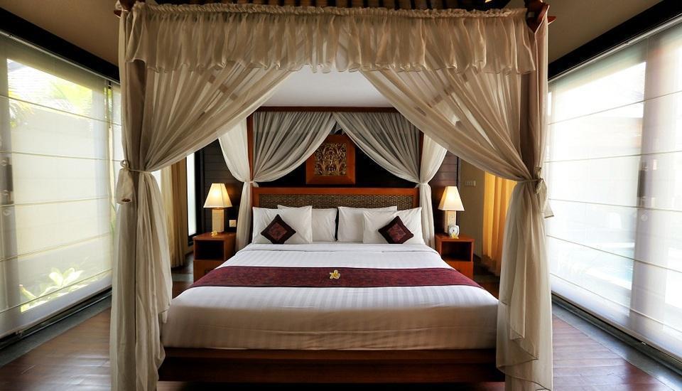 The Sanyas Suite Bali - Kamar tidur Deluxe Suite Villa