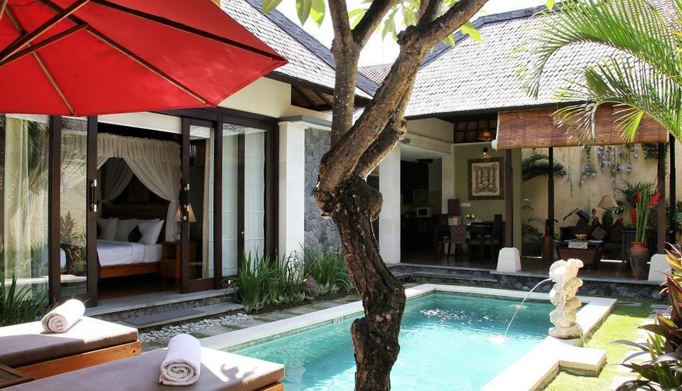 The Sanyas Suite Bali - Pemandangan Deluxe Suite Villa