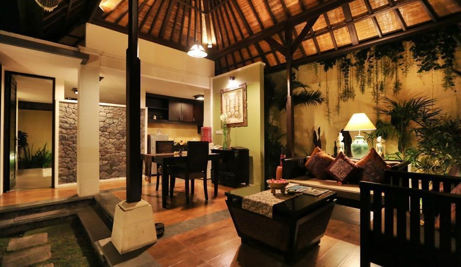The Sanyas Suite Bali - Tampilan di Villa Deluxe Suite