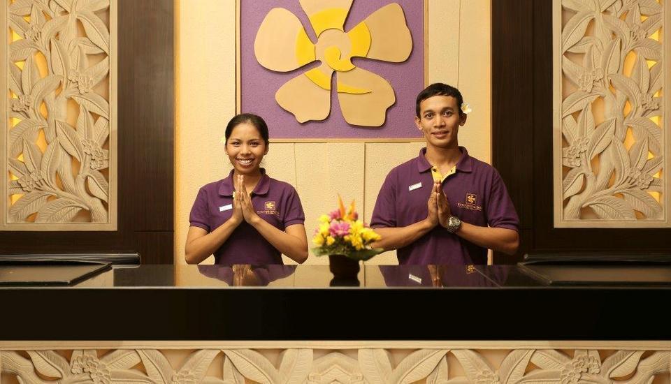 Kuta Central Park Hotel Bali - Reception (Hi-22/11/2013)