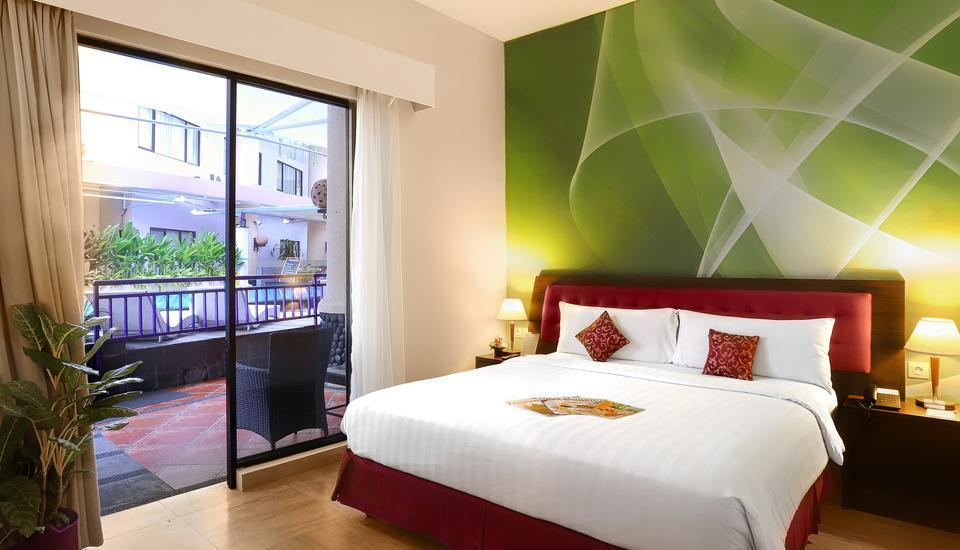 Kuta Central Park Hotel Bali - Deluxe Room Dengan Sarapan WEEKEND PROMOTION 56% OFF