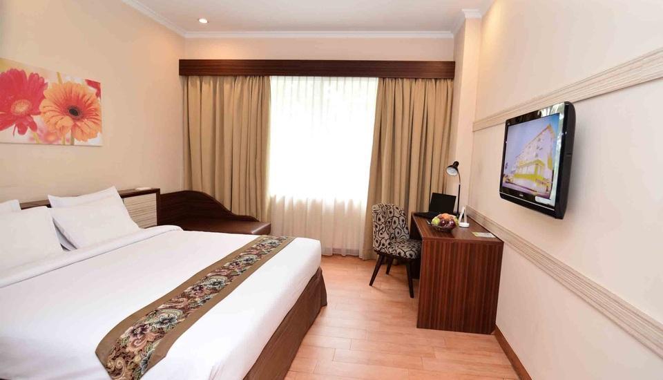 Angkasa Garden Hotel Pekanbaru - Deluxe Room - double bed