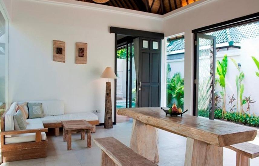 Artemis villa and hotel Bali - Ruang tamu