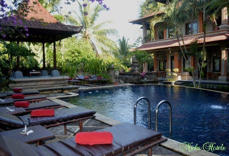Nick's Hidden Cottages Ubud - Kolam Renang