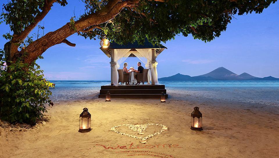 Hotel Ombak Sunset Lombok - dinner