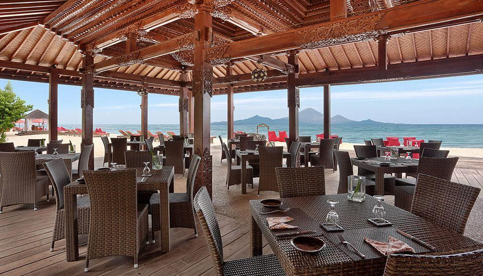 Hotel Ombak Sunset Lombok - resto