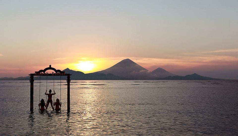 Hotel Ombak Sunset Lombok - swing