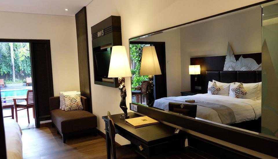 The Vira Hotel Bali - Kamar Deluxe Pool Access