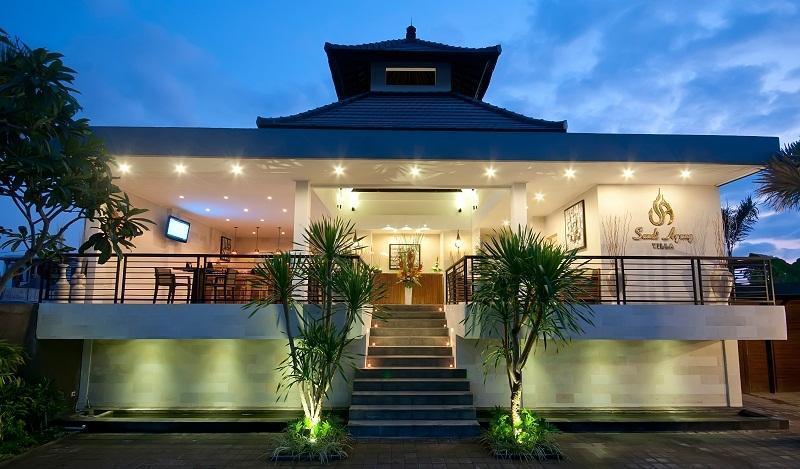 Sandi Agung Villa Bali - Tampilan Luar