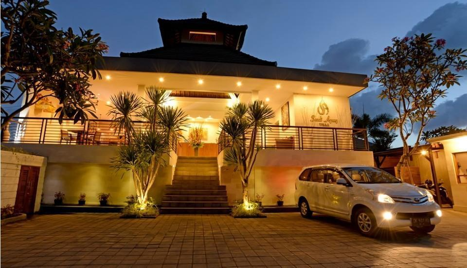 Sandi Agung Villa Bali - Parking Area