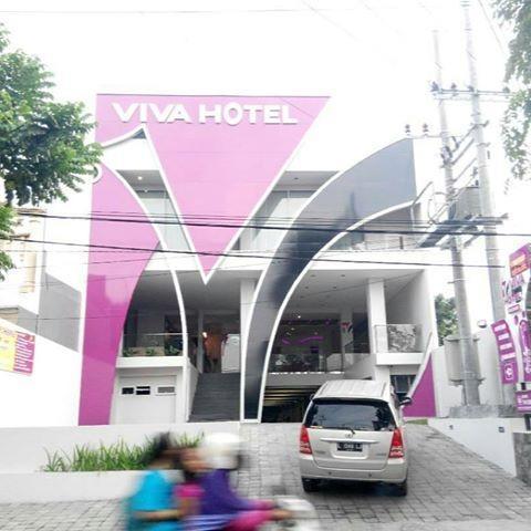 Viva Hotel Kediri - Tampak Depan
