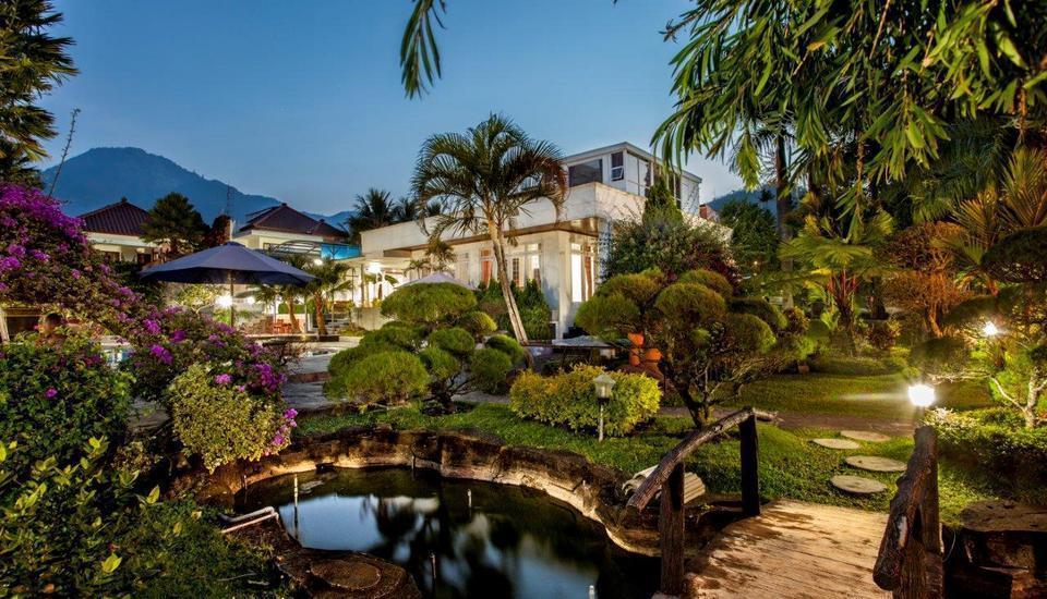 Toetie Boutique Villa & Resort Malang - Tampilan Luar Hotel