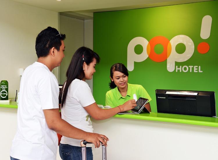 POP! Hotel Nusa Dua - Resepsionis