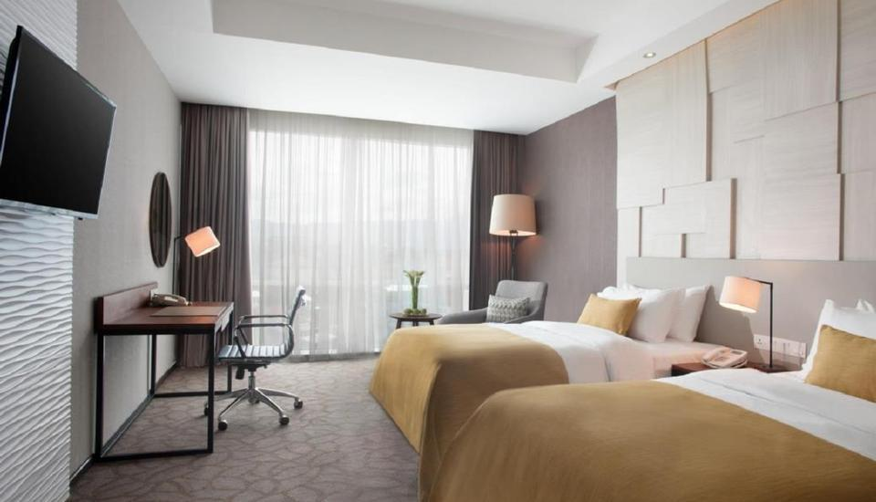 Crowne Plaza Bandung Bandung - Deluxe Twin Room Only LUXURY - Pegipegi Promotion