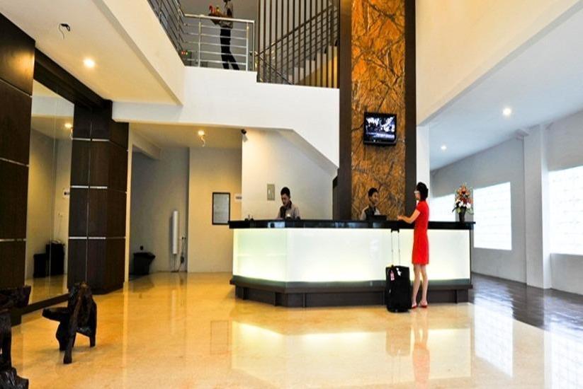 Cassadua Hotel Bandung - Resepsionis