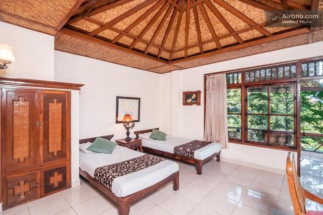 Gunung Merta Bungalows Bali - Standard Garden Twin Room