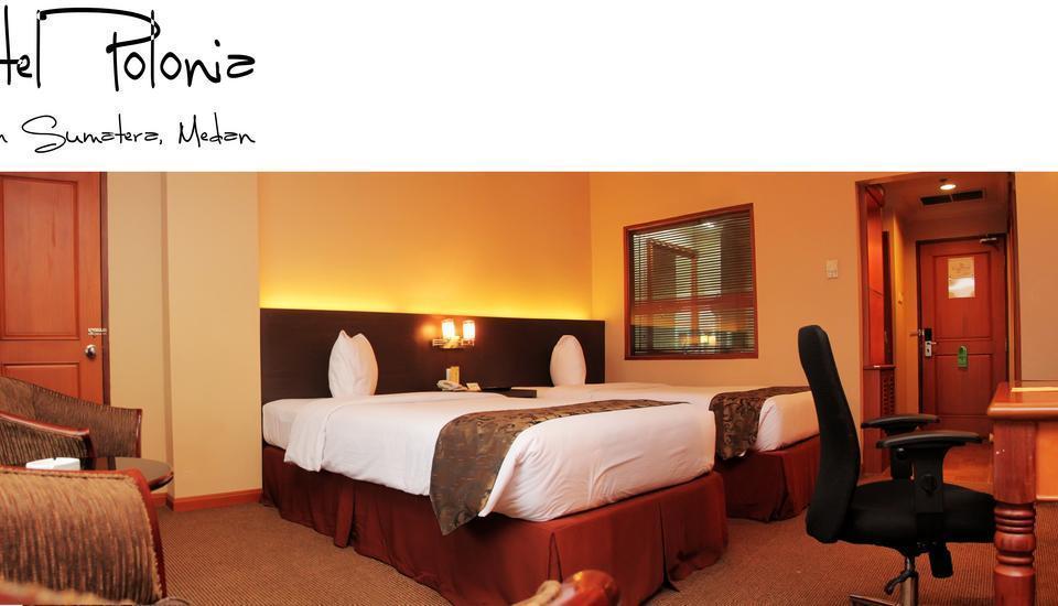 Hotel Polonia Medan - Kamar tidur