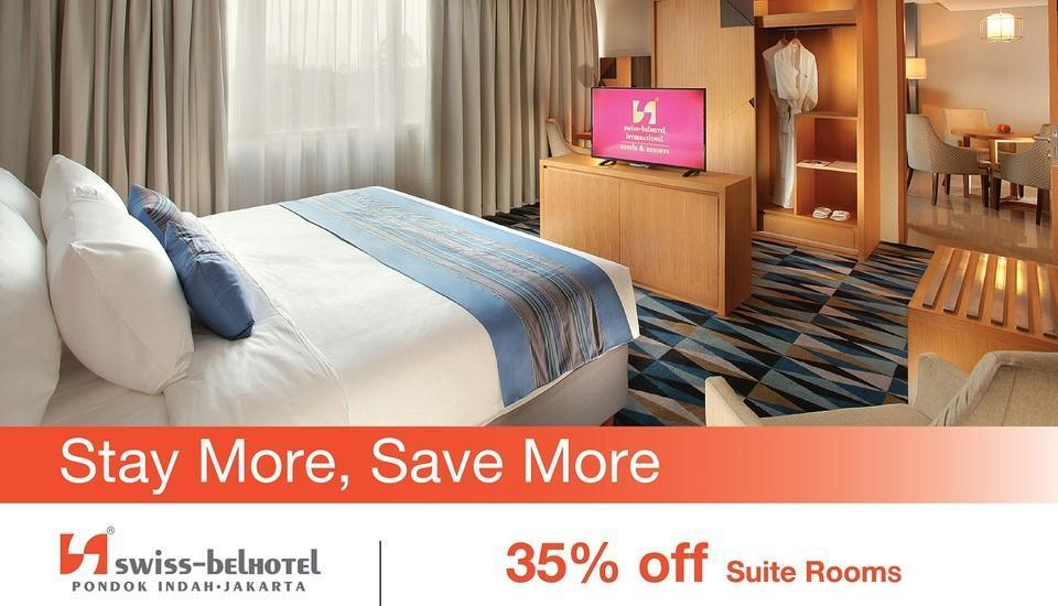 Swiss-Belhotel Pondok Indah Jakarta - Minimum Stay 7 Day. Stay More, Get More And Save More 35% off Suite Rooms