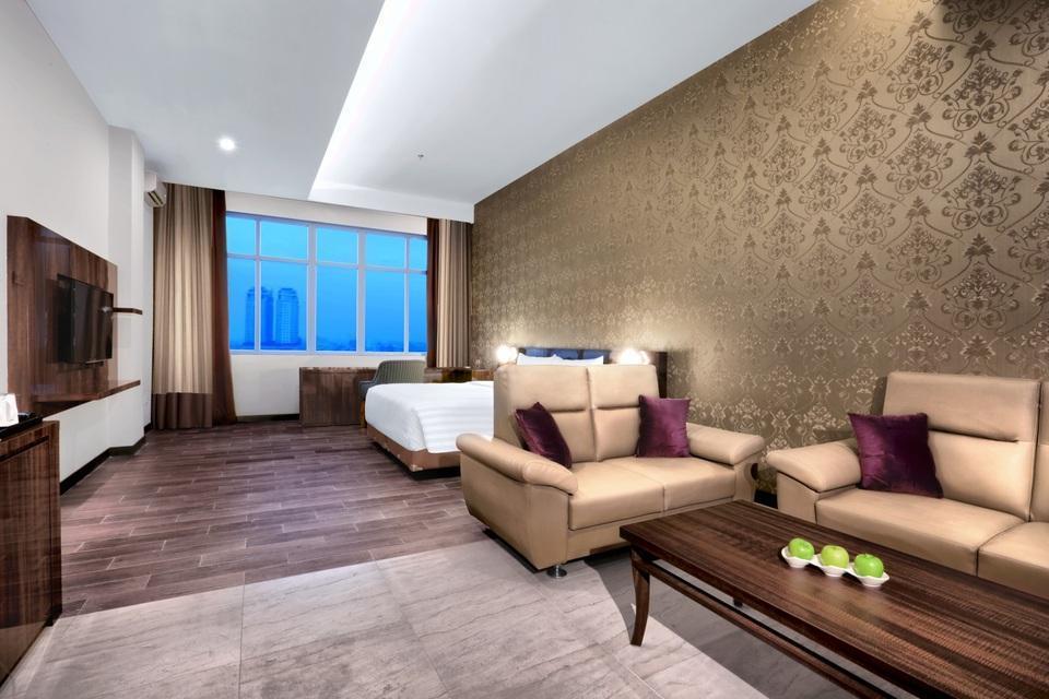 favehotel S. Parman Medan - Ruang Tamu - Junior Suite