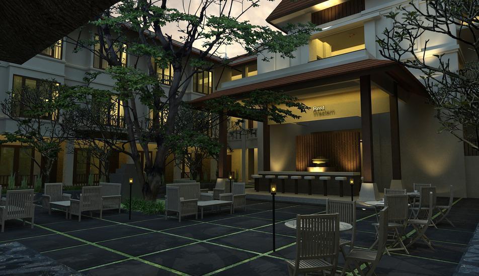 Best Western Resort  Kuta - Lounge Bar