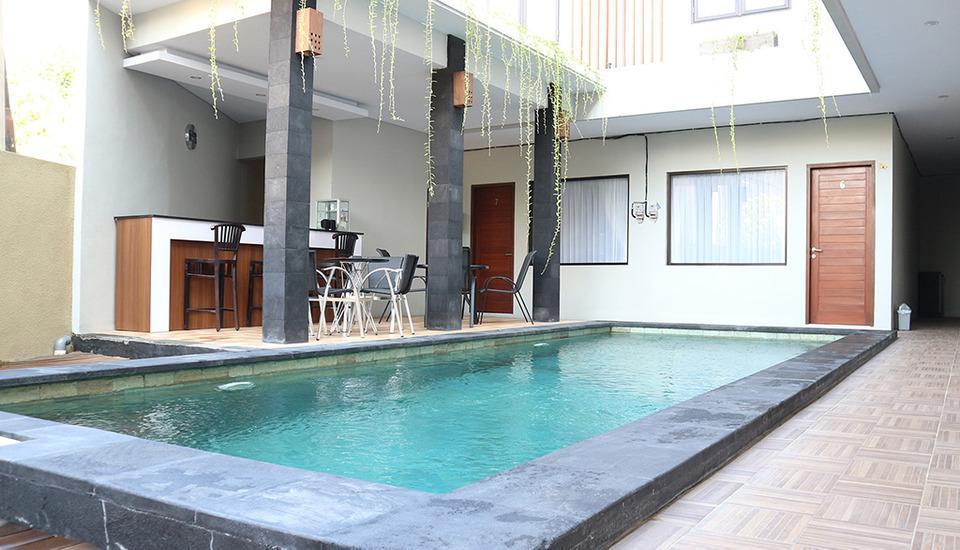 Tri Homestay Bali - Kolam Renang