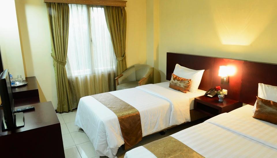Hotel Jusenny Jakarta - Kenangan Superior tempat tidur twin