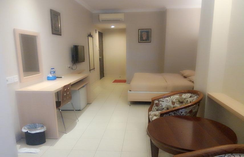 Sky View Hotel Batam - Deluxe Double Room Regular Plan